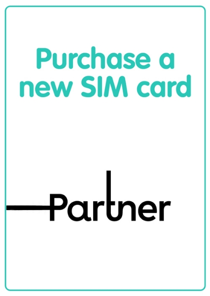 Picture of Purchase a new Partner local SIM card. SIM is not prepaid.