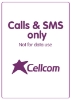 Picture of Cellcom 50 NIS charge. Valid for a year.